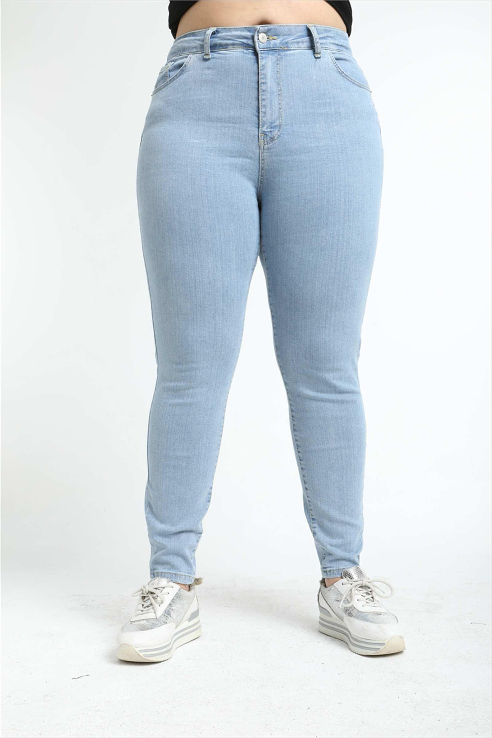 Женские узкие джинсы с завышенной талией Diaves, модные летние голубые и белые джинсы в турецком стиле