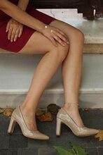 Avril vison Stiletto Slip-on bout pointu vert violet talons hauts Sexy femmes robe chaussure