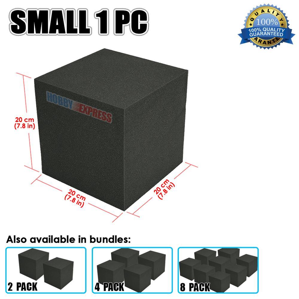 """Arrowzoom esquina acústica cubo bajo trampa bloque aislamiento acústico de estudio espuma 20x20x20 cm (7,8x7,8x7,8 """") kkk1135"""