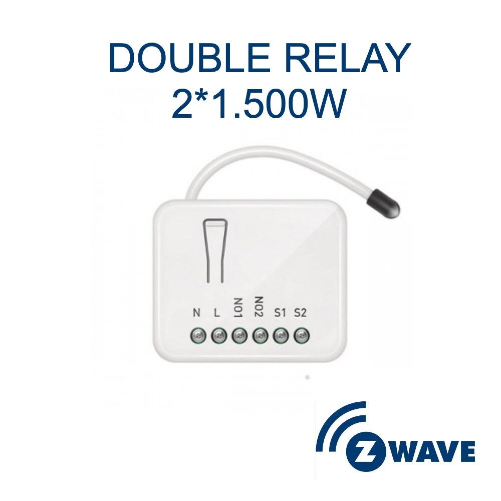 Z-Welle Philio Doppel Relais Smart Switch 2 Gang EU Freq 868MHz PAN04 2 Kanal