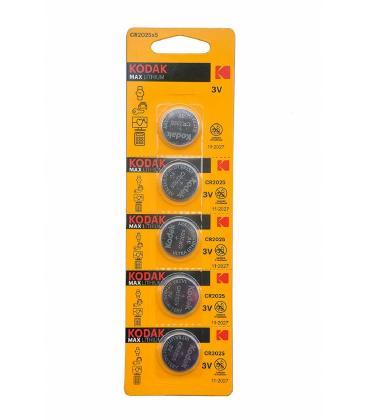 Pilas de boton Kodak bateria Оригинал liio CR2025 3V en блистер 10X Unidades