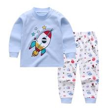 Children's Underwear Set Cotton Boys And Girls Long Johns Baby Pajamas Spring Autumn Clothes