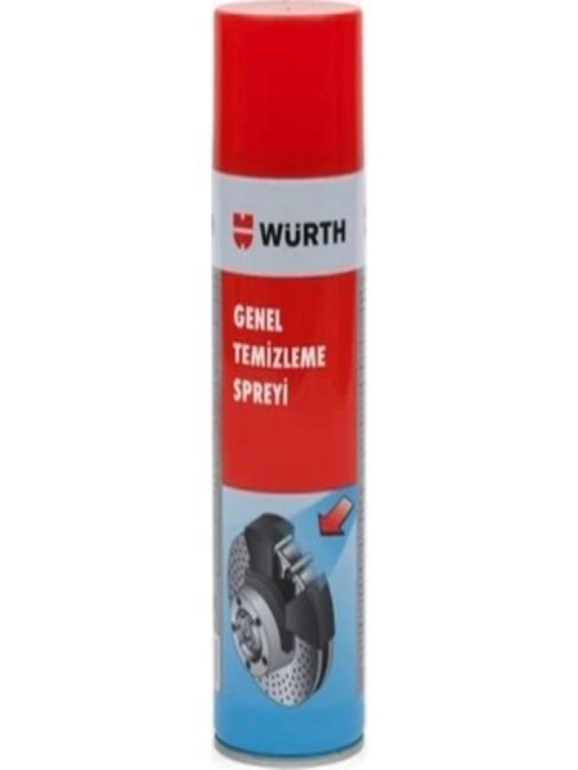 Car, Care, Auto, Accessory, Würth General Cleaning Brake Lining Spray 500 ml, High Performance, Quality, Perfect, Clean,