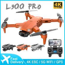 Квадрокоптер L900 PRO, профессиональный Дрон с двойной HD камерой, GPS, Wi-Fi, VS SG108 KF102