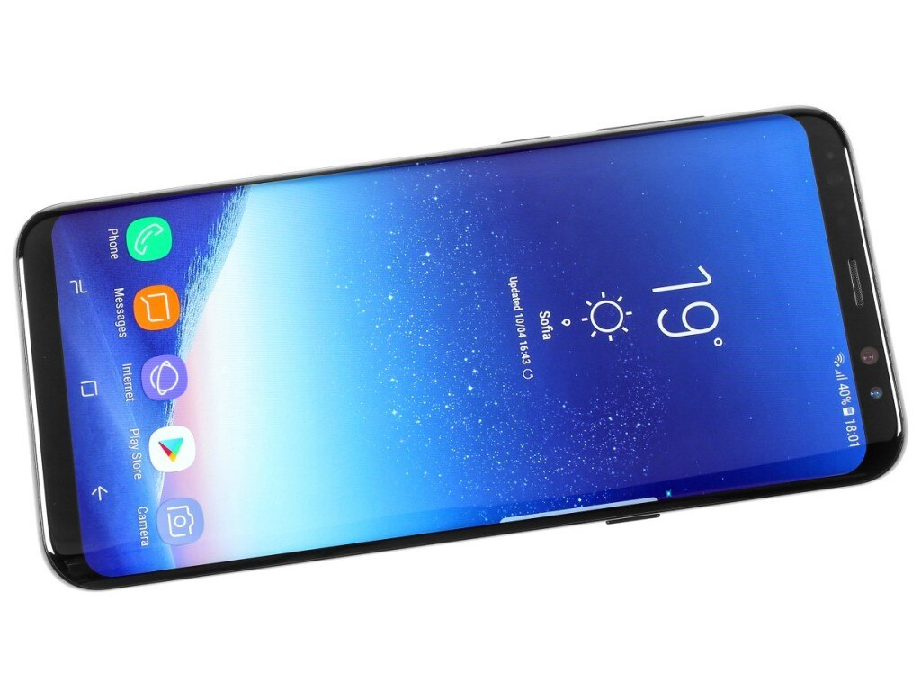 Смартфон Samsung Galaxy S8 Plus G955F G955V G955A G955FD, 4 + 64 ГБ, 6,2 дюйма