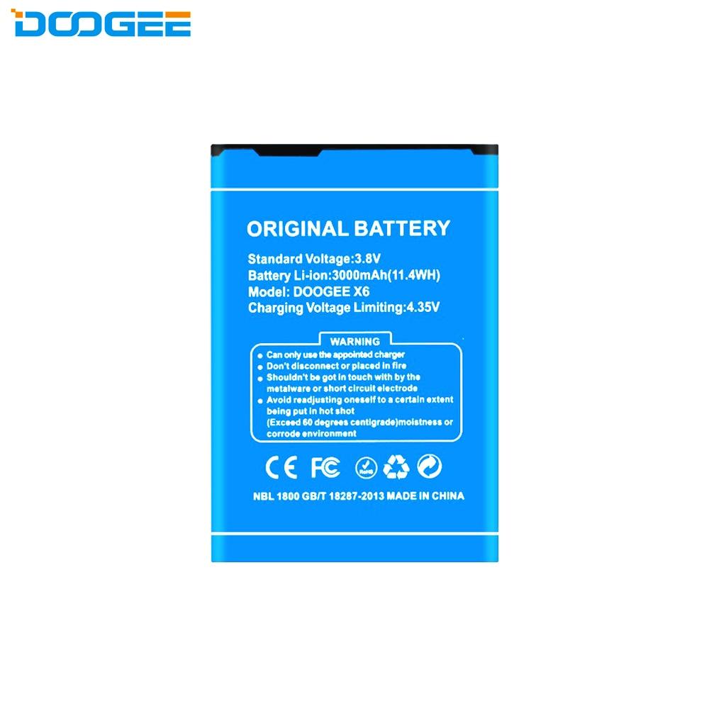Original smartphone battery for Doogee X6 / X6 Pro (3.8V, 3000 mAh)