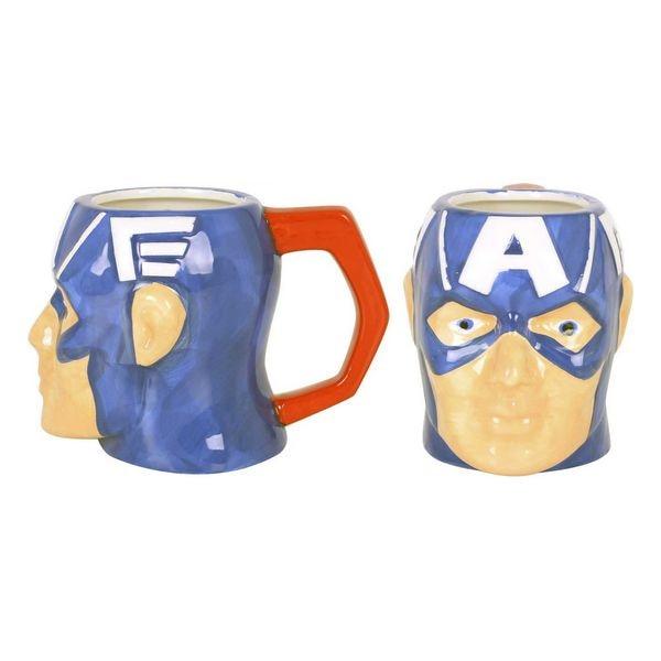 Taza de cerámica Capitán América 410 ml
