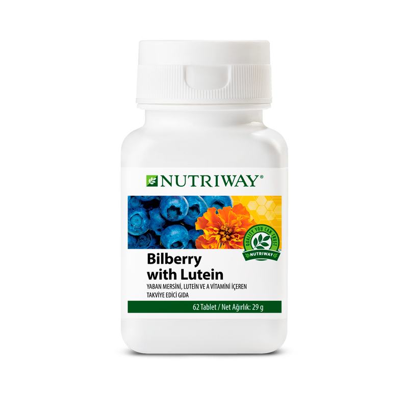 Bilberry with Lutein NUTRIWAY™ 62 Capsules
