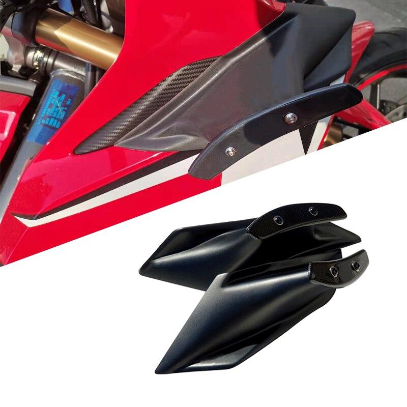 طقم أجنحة هوائية ثابتة لهوندا CBR650R ، جناح هدية ، CBR650R 2019 2020