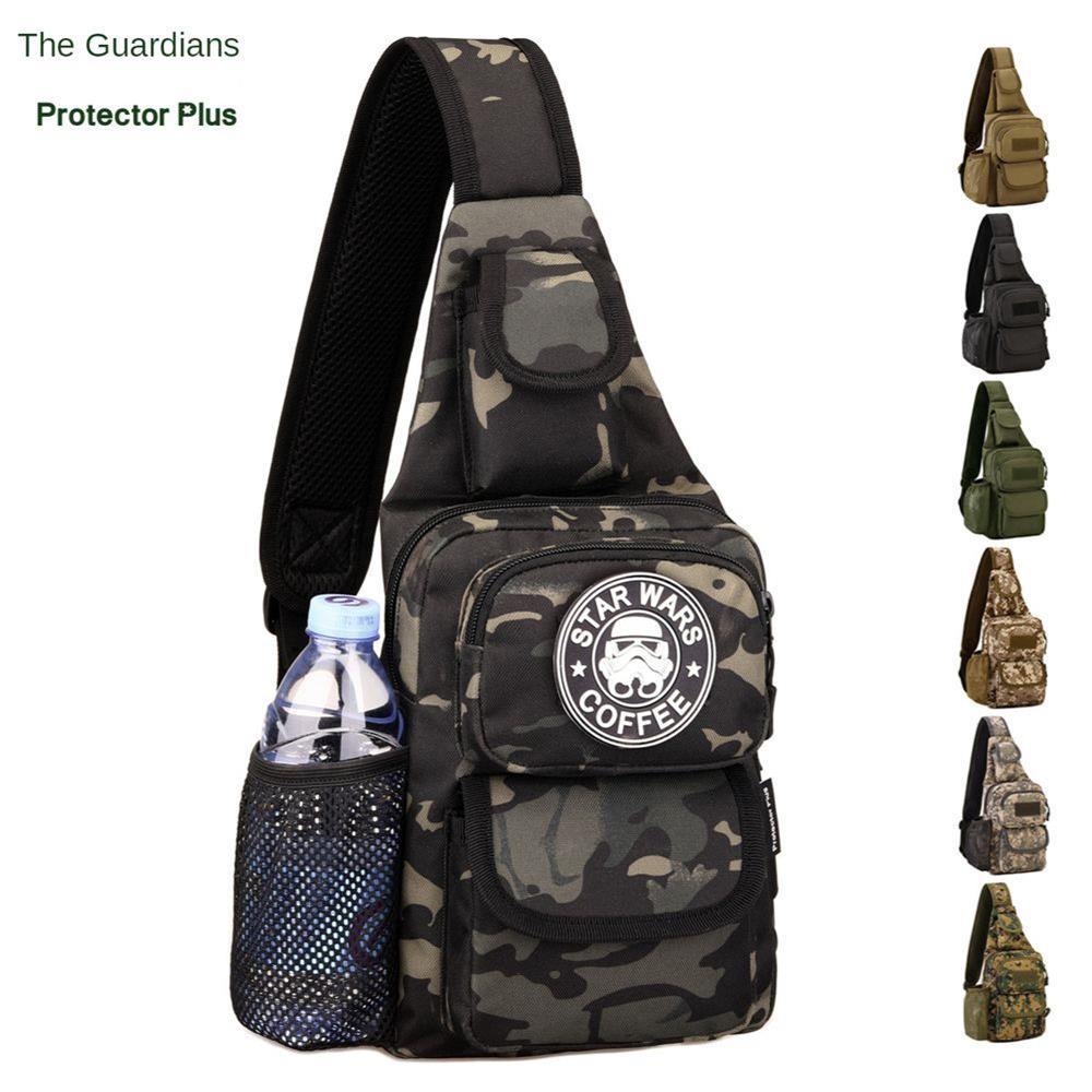 Мужской Тактический рюкзак для пеших прогулок, путешествий, спорта, альпинизма, нагрудная сумка, военный рюкзак для кемпинга, тактические м...