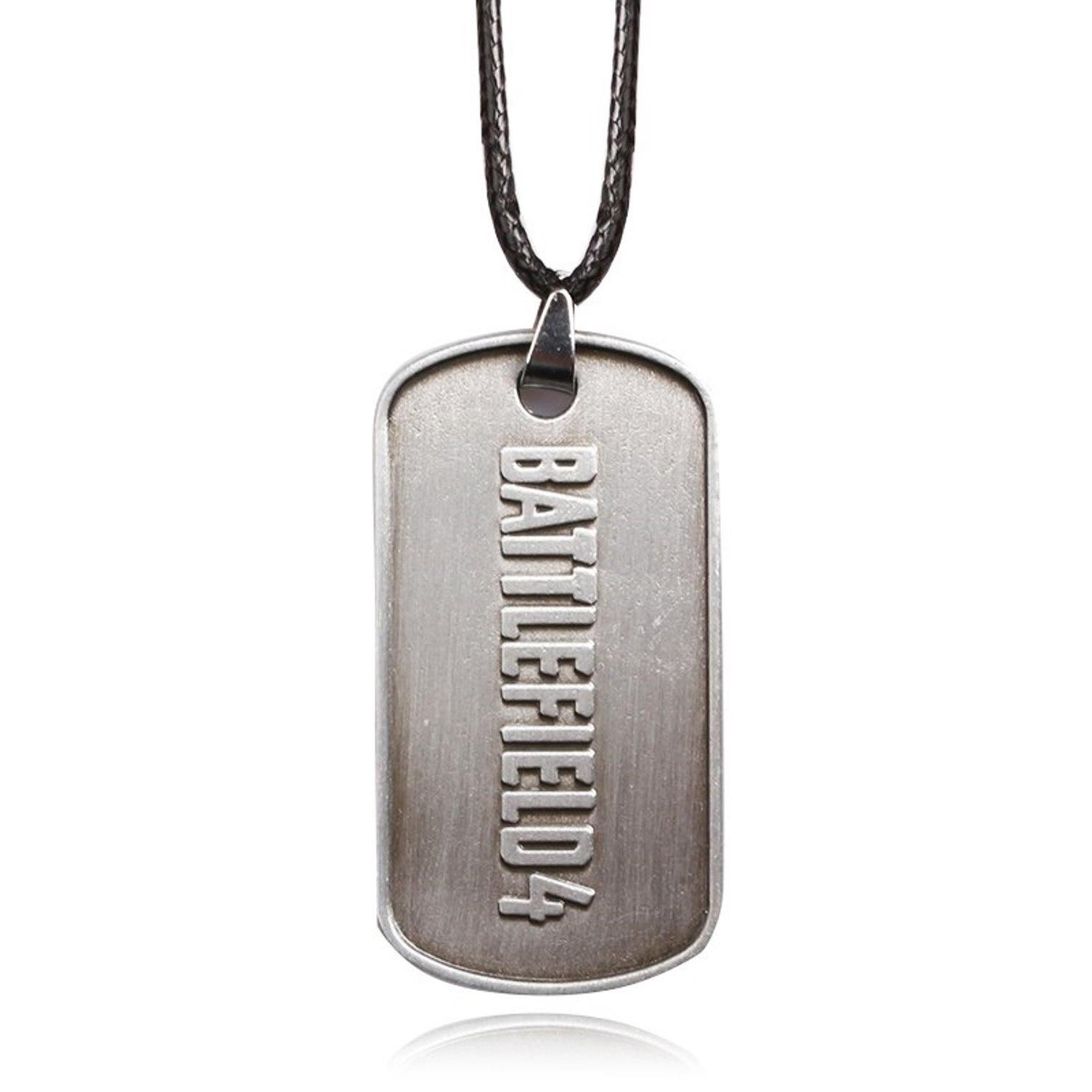 BF4 campo de batalla 4 soldado impresión collar Cosplay