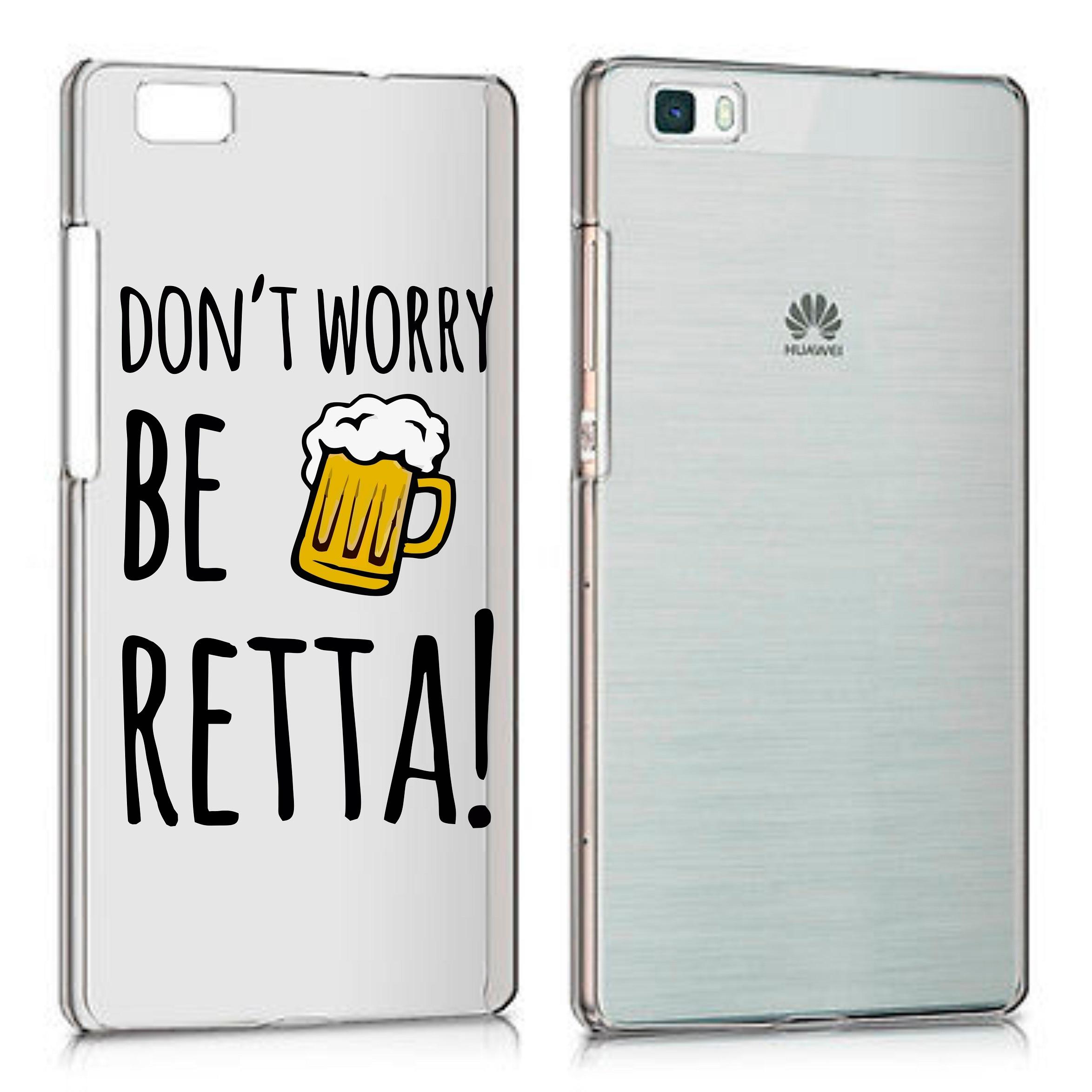 Cubierta por Tutti Gli Smartphone Huawei p8 p8 Lite p9 p9 Lite p10 p10 Lite p20 Lite-No te preocupes ser RETTA hecho en Italia