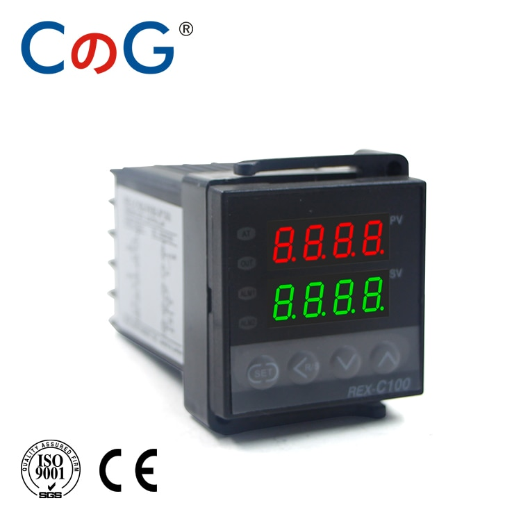 CG REX 48*48 مللي متر 600 800 درجة المدخلات K J PT100 0-10 فولت 4-20mA PID الناتج SSR التتابع 220 فولت 24 فولت 380 فولت أداة تحكم في درجة الحرارة بالترموستات