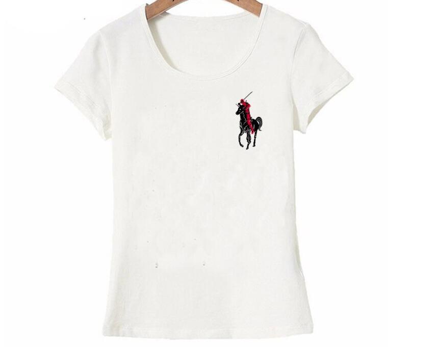 The Deadpool T-Shirt été mode femmes t-shirt 2018 nouveau design hauts mignon fille T-Shirt dames T-shirts occasionnels femme à