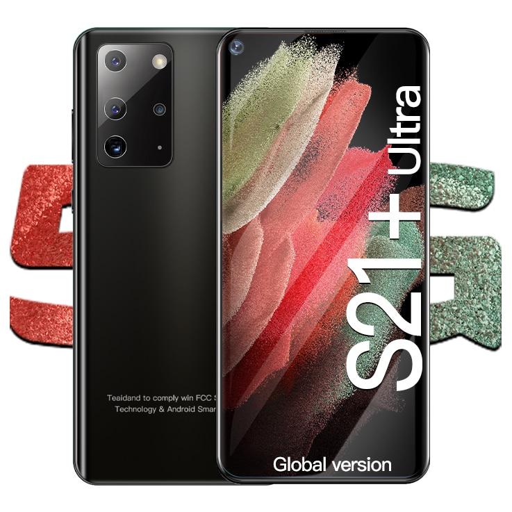 Galay – Smartphone S21 Ultra 5G, téléphone portable, Android, 512 go, 5000mAh, Version globale, double carte Sim, écran de 7.2 pouces
