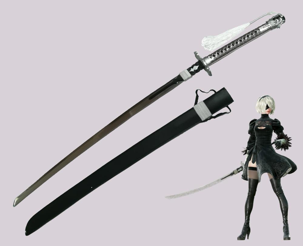 Nier automata katana 2b videogame lâmina espada