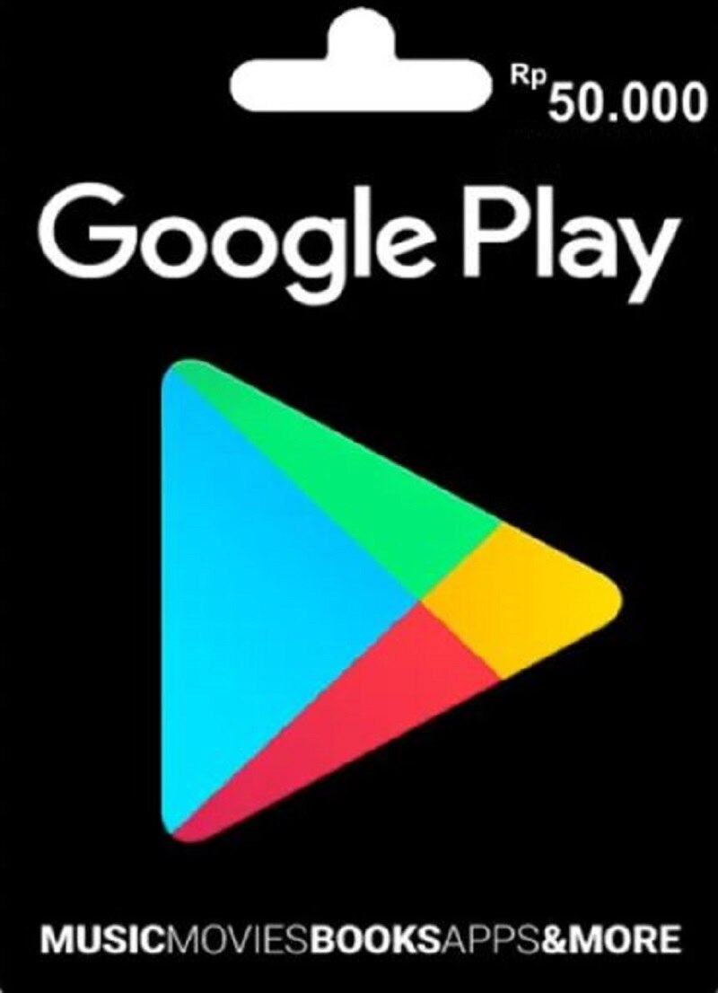 KODE VOUCHER GOOGLE PLAY IDR50,000 (ID) no physical SHIPPING JUST DIGITALE DILIVERED IN ALIEXPRESS MESSAGE enlarge