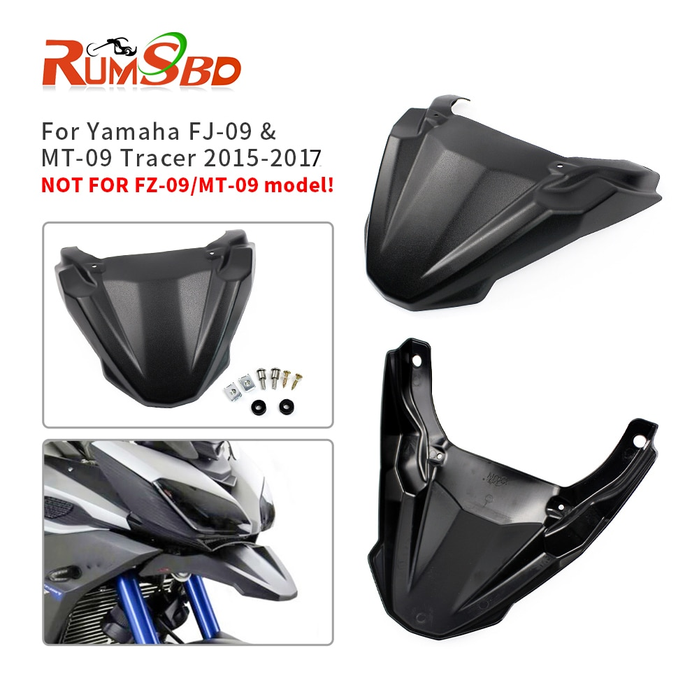 Para Yamaha MT09 Tracer 900 GT guardabarros pico FJ09 accesorios de motocicleta extensión de protección de cubierta 2015 2016 2017 2018 2019 2020