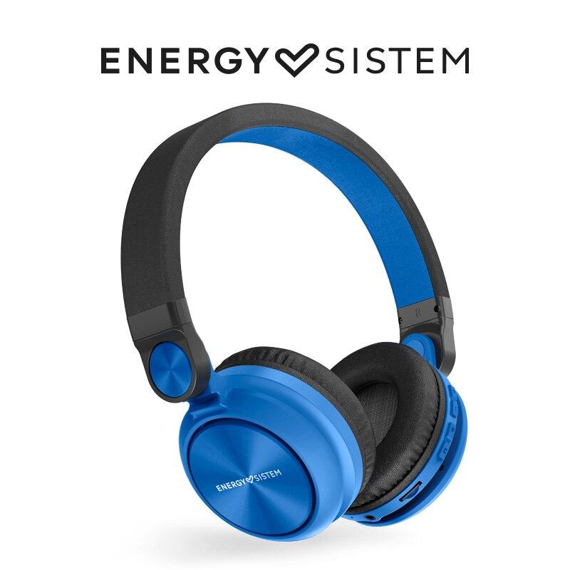 Energy Sistem Headphones BT Urban 2 Radio Indigo ( Auriculares Bluetooth, Cascos, Reproductor MP3 microSD, Radio)