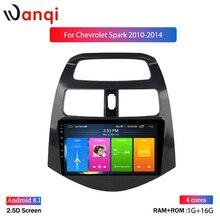 Lecteur vidéo multimédia 9 pouces autoradio pour CHEVROLET Spark 2010 2011 2012 -2014 lecteur stéréo de Navigation android 10 DVD GPS