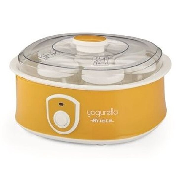 Fabricante de iogurte ariete 617 yogurella 1,3 l 20 w amarelo
