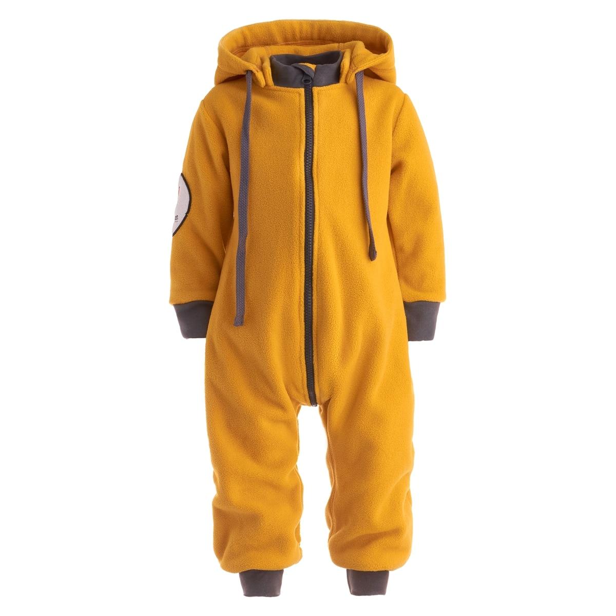 "Фкм-гор2 fleece jumpsuit zipper ""mustard"""