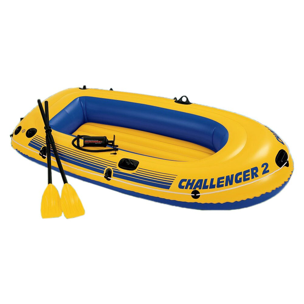 Intex barco inflable Challenger 2 Set 3 cámaras paddle/bomba