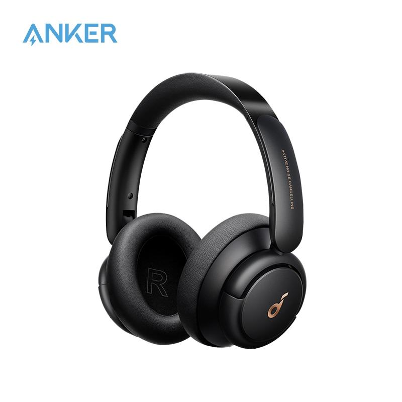 Наушники Soundcore от Anker Life Q30, гибридные наушники с активным шумоподавлением, несколько режимов, звук с высоким разрешением, время работы 40 часов   Электроника   АлиЭкспресс
