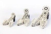 Jibau Silver Plated Miniature Clog Personalized Gift Set