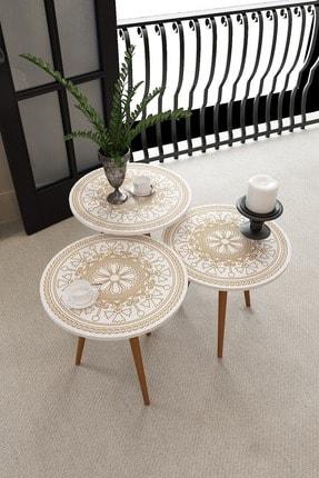 İkizlerçeyiz Efsun Zigon Sehpa Ahşap Ayaklı modern ahşap kahverengi sehpa kahve sehpası çay sehpası meyve masası kanepe yanı oturma odası için mobilya sehpa
