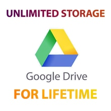 Google Drive Unlimited Storage with Personal Gmail for Unlimited Time 100%Delivery Guarantee - Fas