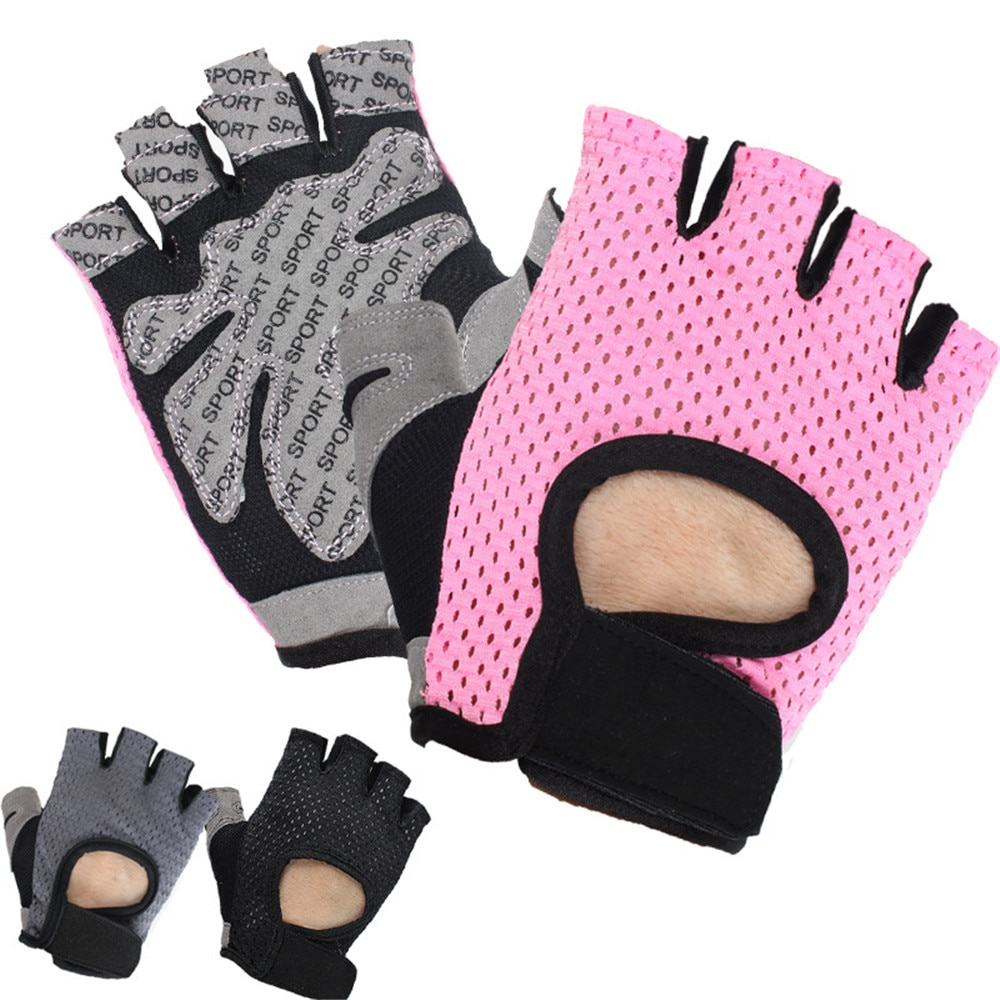 Women Fitness Gloves Weightlifting Yoga Gym Training  Breathable  Wear Resistant Anti Slip Cycling G