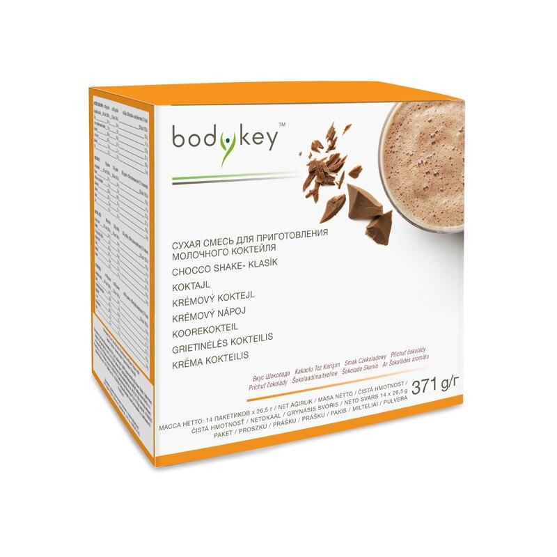 Chocolate shake bodykey™ Pack (14 x 23,5 g)