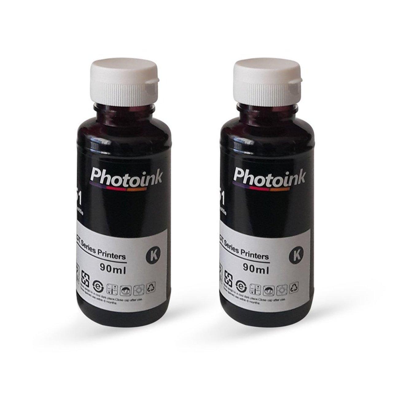 HP PSC 2355 2 uds, tinta negra Photoink