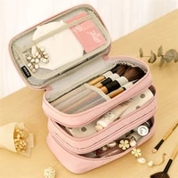 pencil cases simple for adults pen box large capacity stationery supplies makeup pouch cute japanese stationery three zippers
