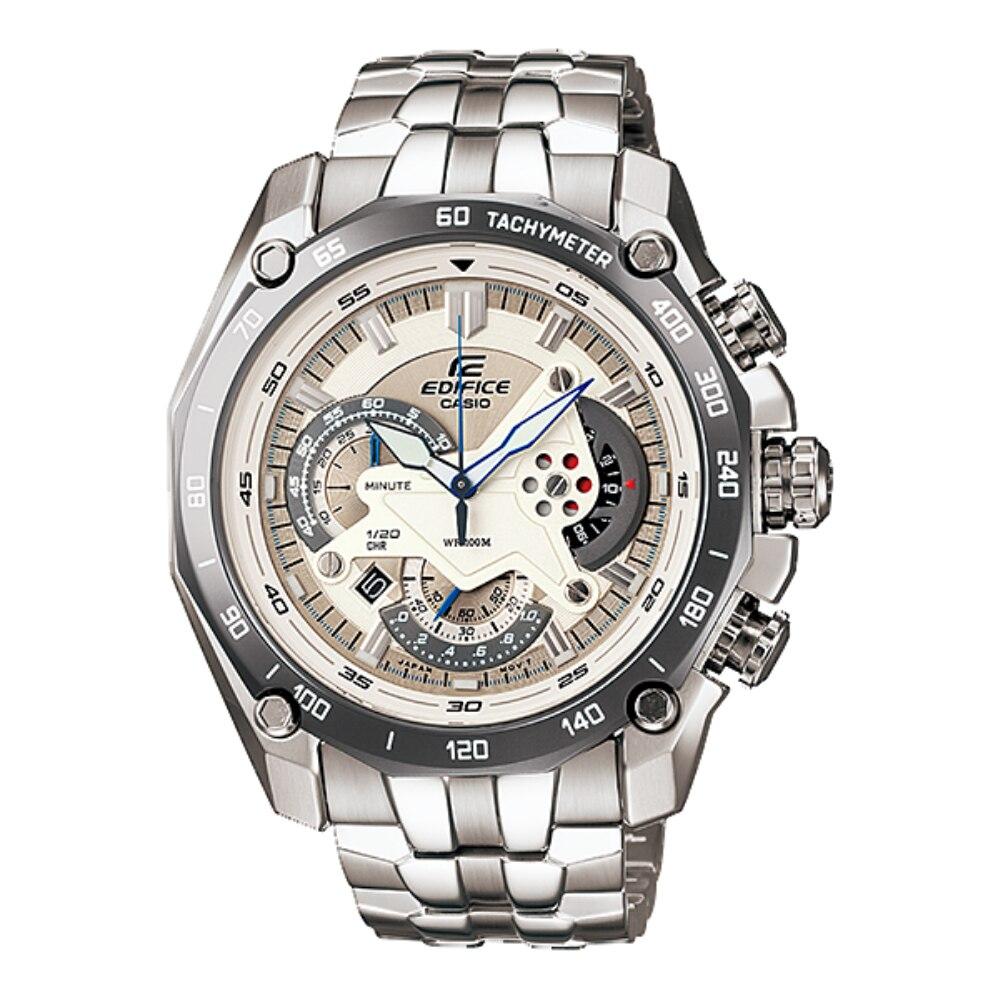 Reloj Casio Edifice de lujo para hombre, reloj de cuarzo deporte militar resistente al agua para carreras con cronógrafo, reloj Masculino EF-550D