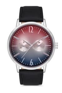 2020 Топ Роскошные брендовые Модные мужские черные кожаные кварцевые наручные часы APWS007304 Aqua di поло 1987