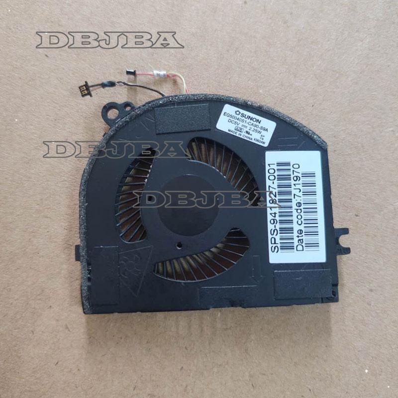 مروحة تبريد وحدة المعالجة المركزية ل SUNON EG50040S1-CA90-S9A 941827-001 DC5V مروحة تبريد الكمبيوتر المحمول