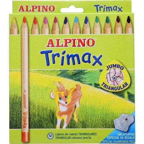 Alpino AL-113 Trimax Jumbo Dry Paint Pen 12'li Dry Paint School Stationery Paint