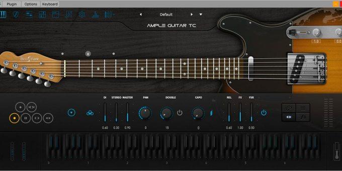 Ample Guitar TC3 v3-1-0 WiN-MAC