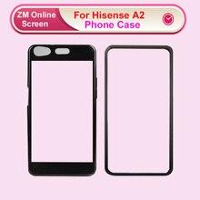 Mode Diy 3D Tpu Transparant Zwart Frame Telefoon Cover Case Coque Voor Hisense A2 Gevallen Hisesne A2 Pro