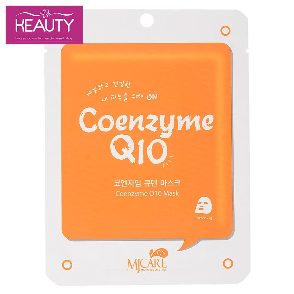 Pacote de máscara mijin coenzima q10 22g