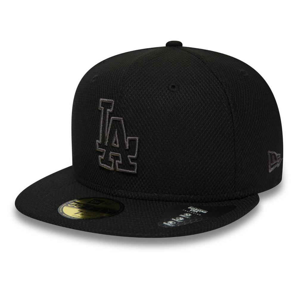 New Era 59FIFTY 7 5/8-flat cap Los Angeles Dodgers MLB Diamond Black
