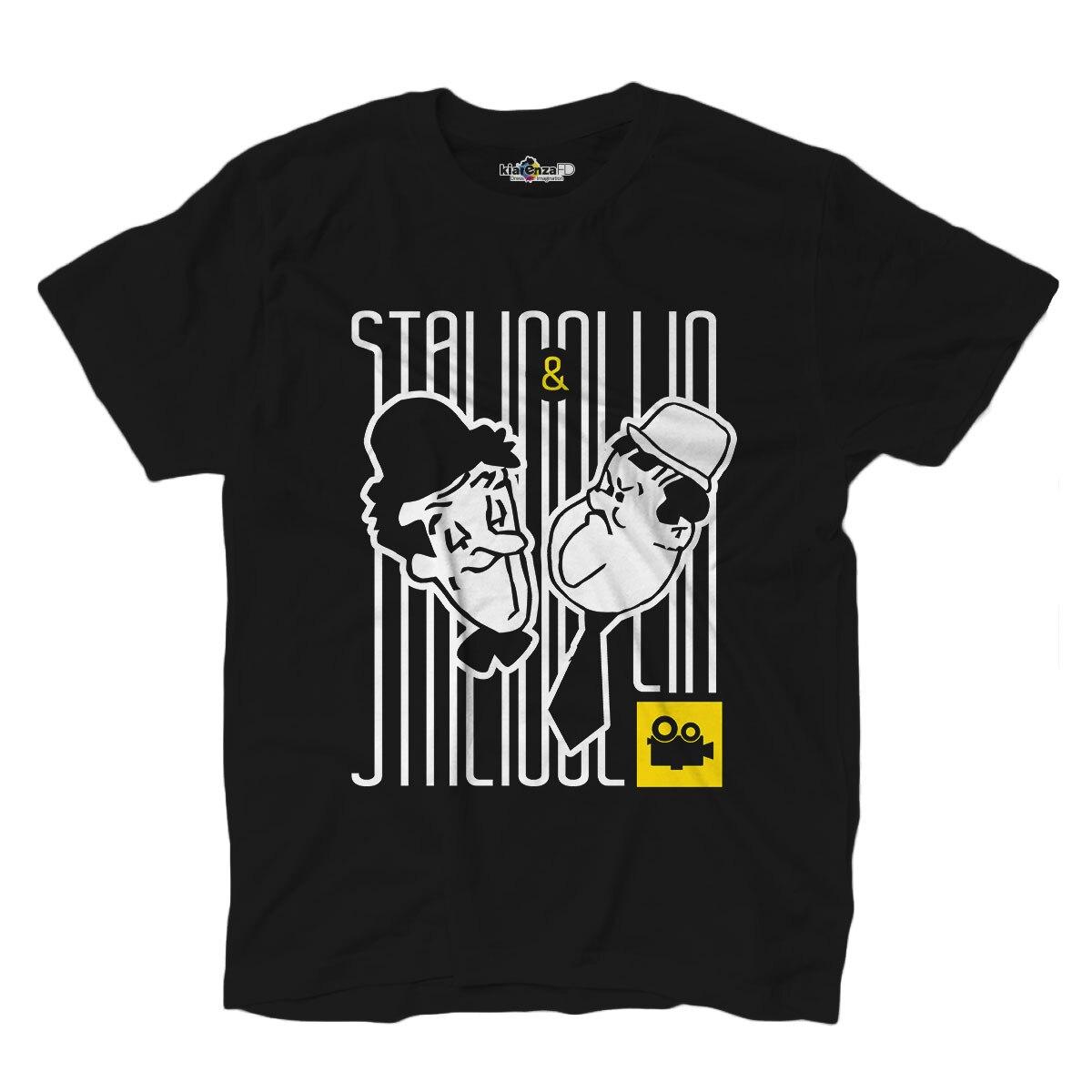 Camiseta T camisa película de culto de los escritores Stalio y Ollio cine actores de cine negro