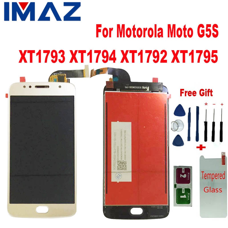 "IMAZ Grade AAA + 5.2 ""LCD Display Für Motorola Moto G5S XT1793 XT1794 XT1792 XT1795 LCD Display Digitizer-bildschirm montage Für g5s"
