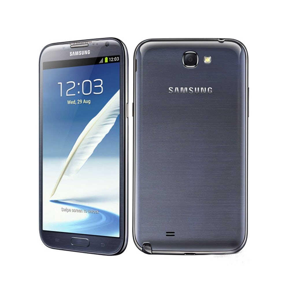 هاتف سامسونج جلاكسي نوت II N7100 مجدد هاتف محمول 8MP 1080P كاميرا رباعية الكور GSM 3G 5.5 ''نوت 2 مفتوح 2G RAM هاتف