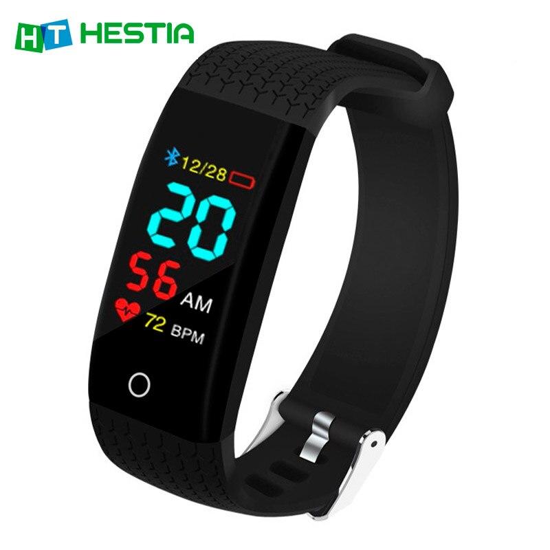 Smart Bracelet Fitness Bracelet Health Bracelet 5 in 1 Pedometer Activity Tracker Tonometer Heart Rate Blood Pressure smart band