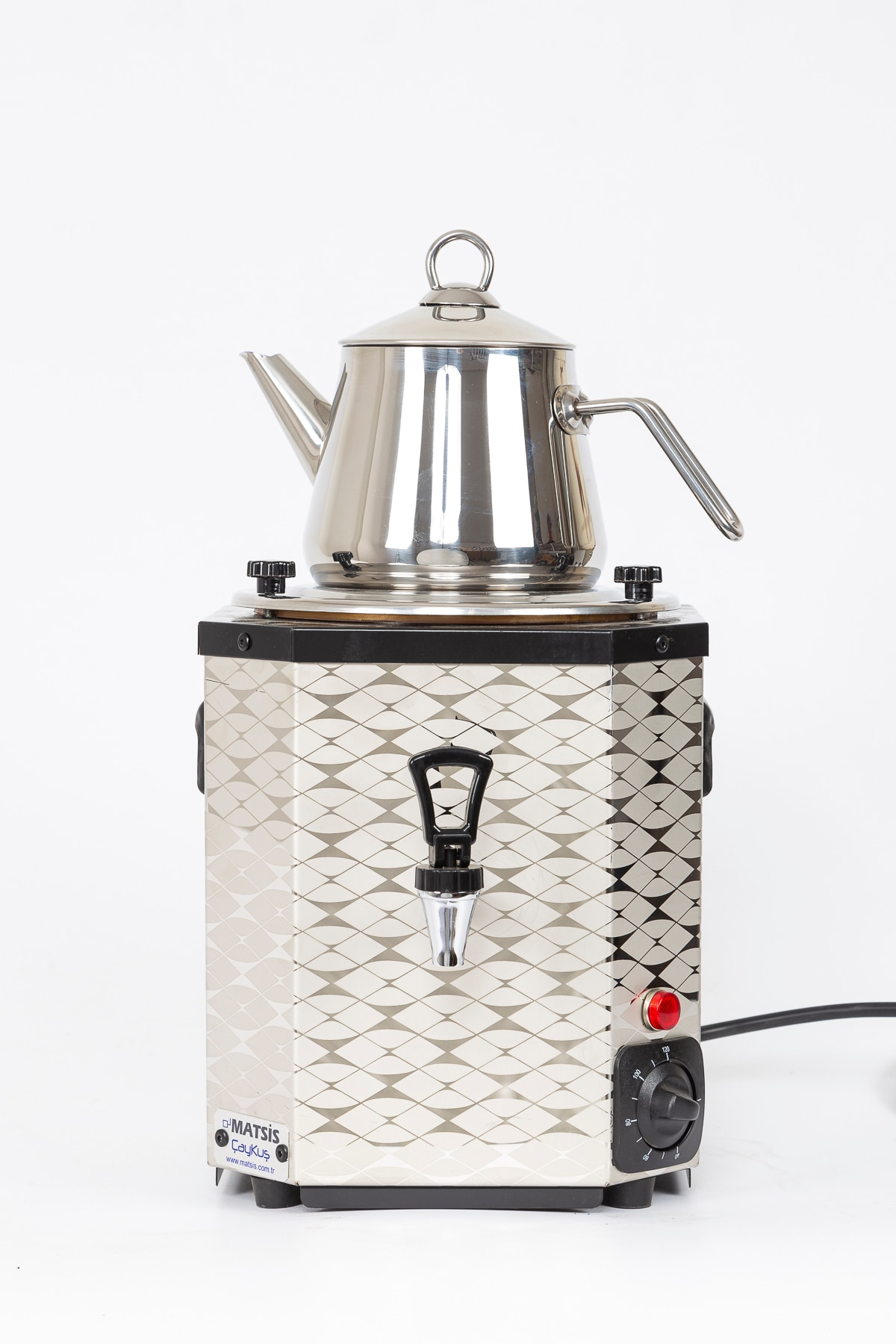TeaBird أصيلة التركية اليدوية قلادة فضية من الفولاذ المقاوم للصدأ الشاي المرجل الساخن ماكينة إعداد الشاي غلاية موقد إبريق الشاي