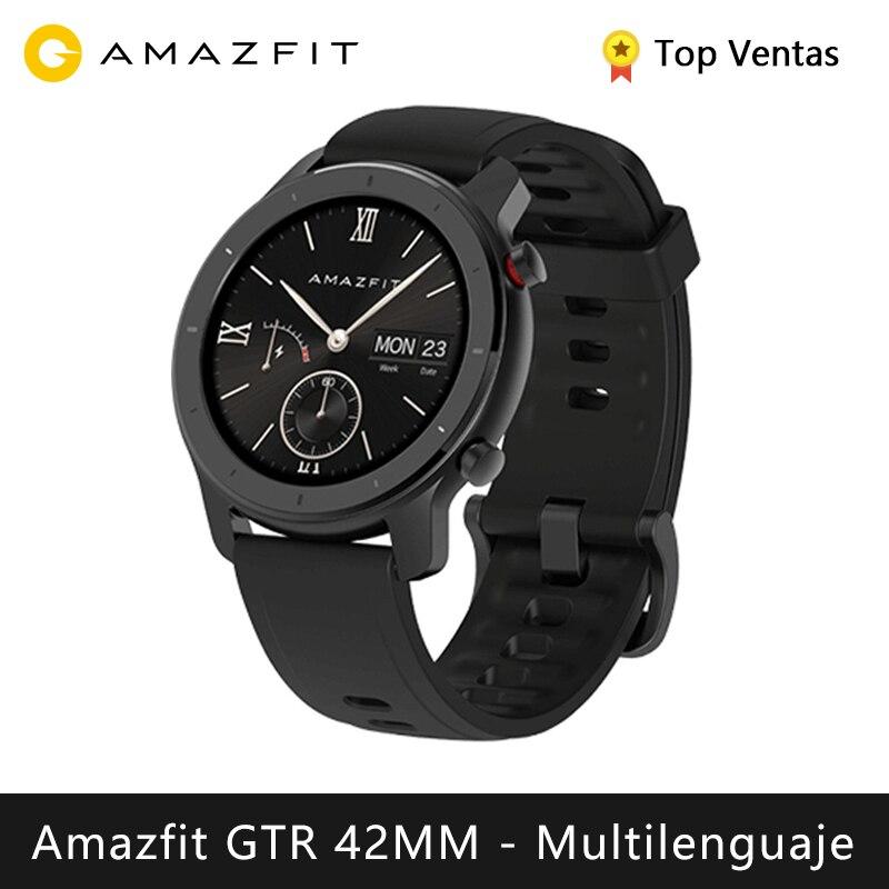 Xiaomi Huami Amazfit GTR 42mm Smart watch (reloj inteligente Bluetooth GPS bisel cerámico deporte android IOS)[Versión Global]