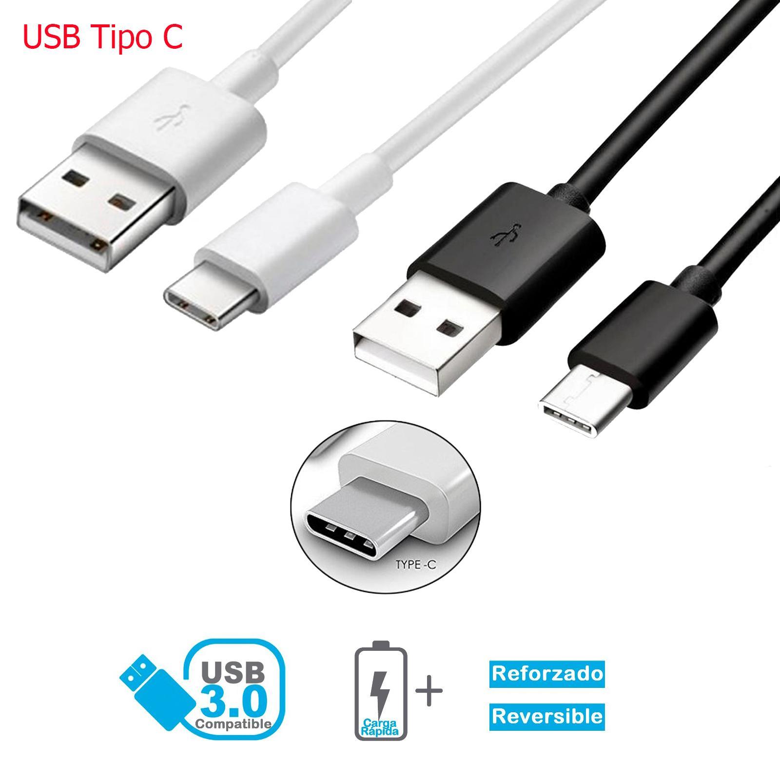 Cordon USB Type C pour mobile Xiaomi noir requin 3 Pro charge rapide et données 1 longueur de pouce et 2 mètres
